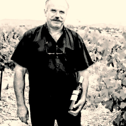 Photo of Luc Moynier, vineyard owner