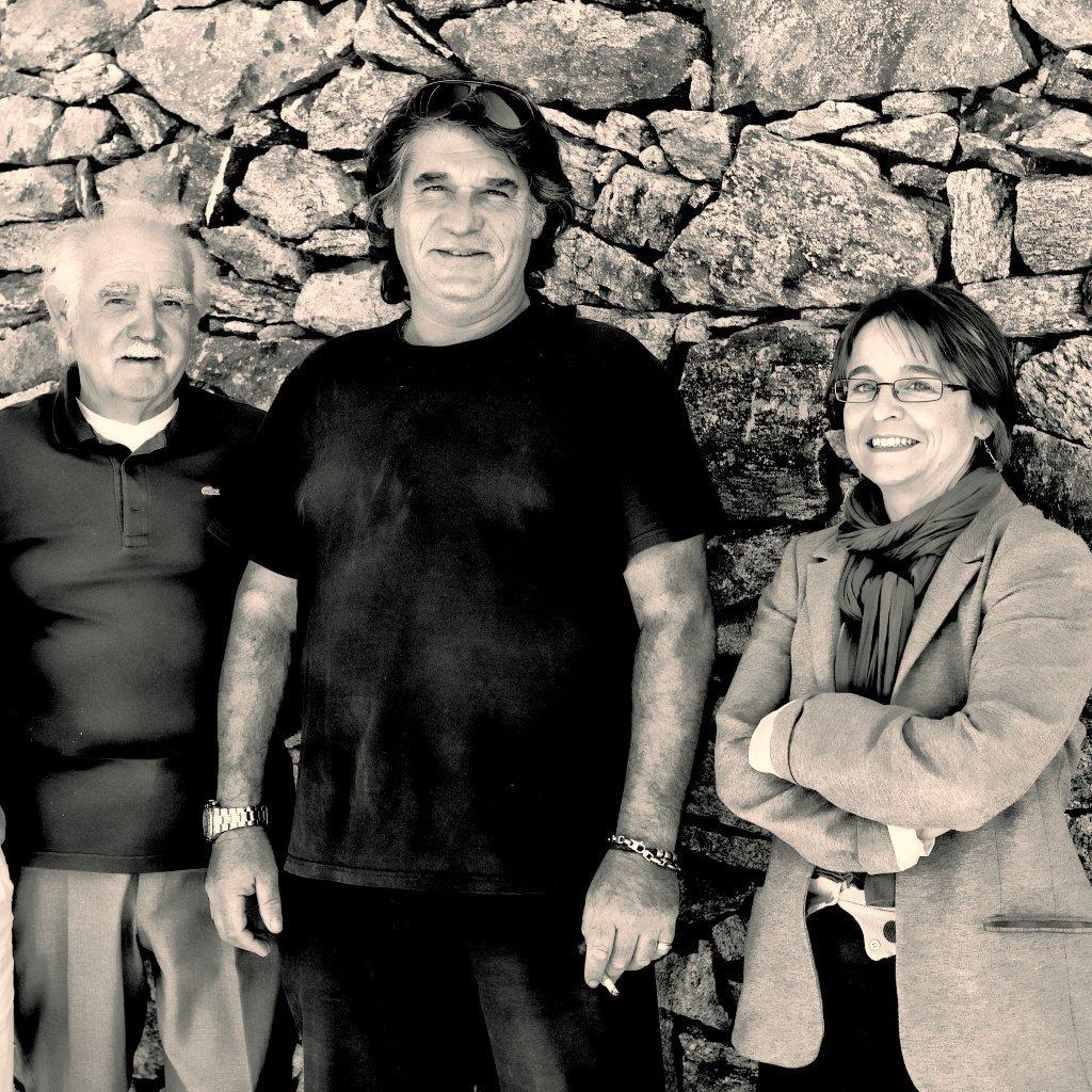 Photo of vineyard owners