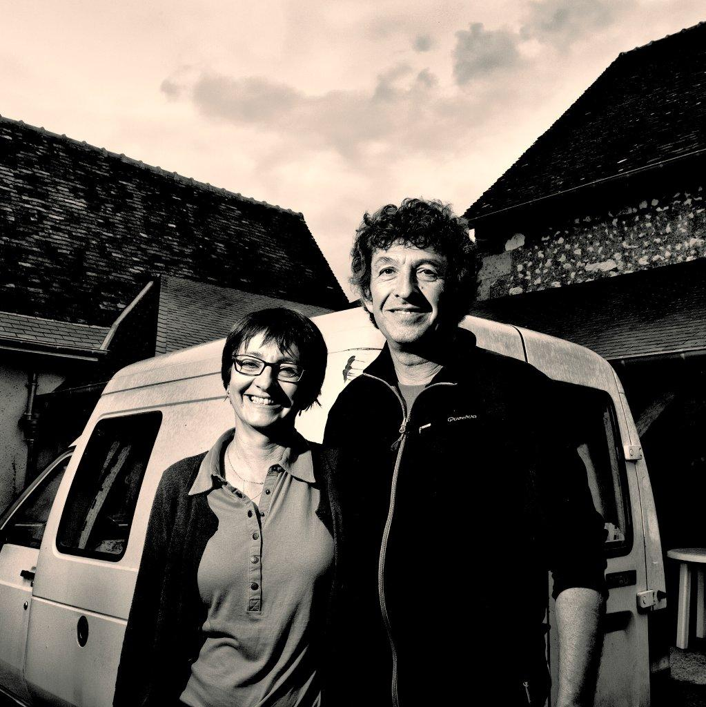 Photo of Pascale & Pascal vineyard owners